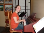 Emily studies Voice and Piano. She also plays flute in band (a definite future music major)