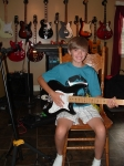 Brody Albert has begun guitar study. He has hundreds of questions which is always a good sign!