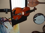 Completely upgraded and reconditioned 100+ year old violin.