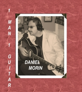 Daniel Morin CD ' One Man-One Guitar '  Black Crane Records