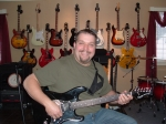 Adam Lavoie studies the guitar. A past piano player, he has rapidly caught on to understanding guitar. Adam is a fast le